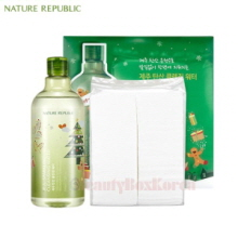 NATURE REPUBLIC Jeju Sparkling Cleansing Water Set [Green Holiday Edition]